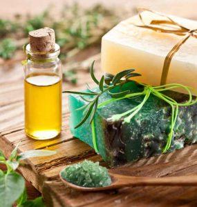 油と健康化粧品