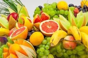 柑橘類、ブドウ、バナナ