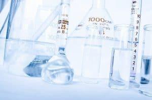 実験室の容器