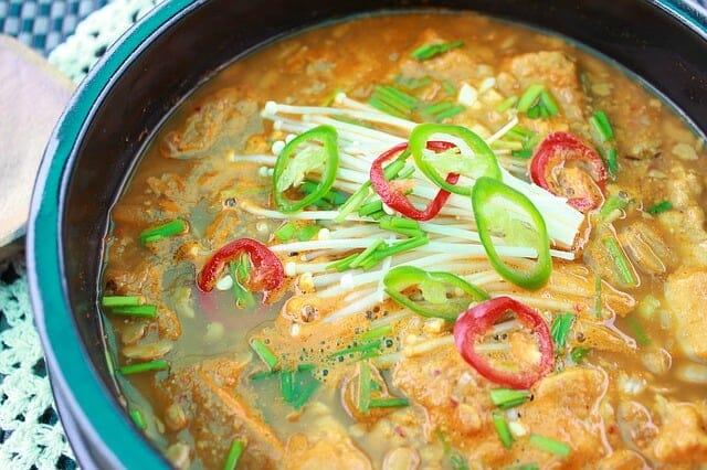 野菜スープ鍋