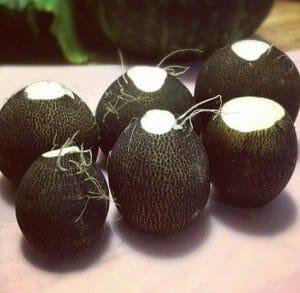 黒カブ - ビタミンが豊富な野菜