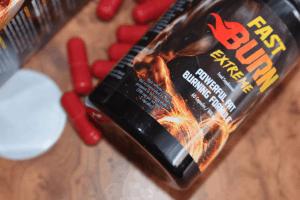 パッケージとFast Burn Extremeカプセル
