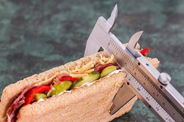 ノギスで測ったサンドイッチ