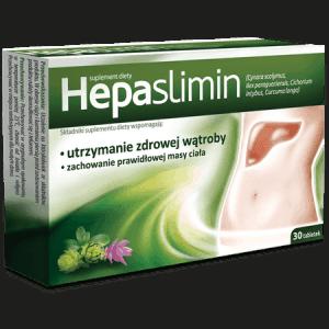 健康な肝臓の維持をサポートするHepaslimin錠