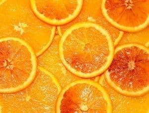 ビターオレンジのスライス