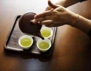 緑茶の淹れ方