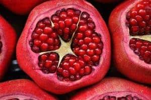 野生のザクロの果実