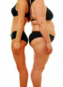 痩せ型対肥満型、減量型