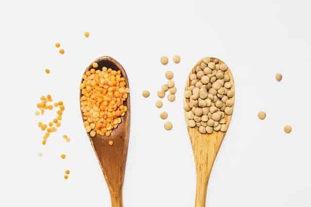 黄赤レンズ豆