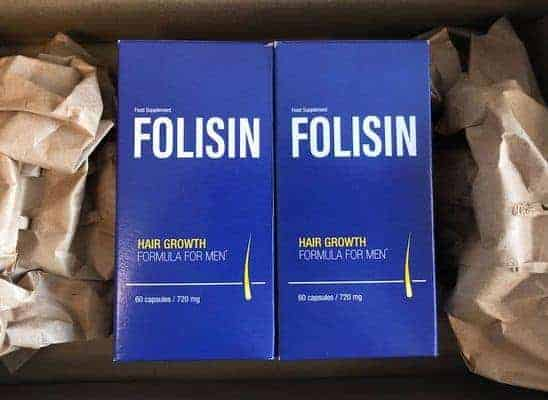 Folisinの抜け毛抑制剤