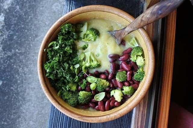 ブロッコリー, 豆, 健康食品