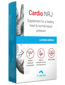 高血圧のサプリメント「Cardio NRJ