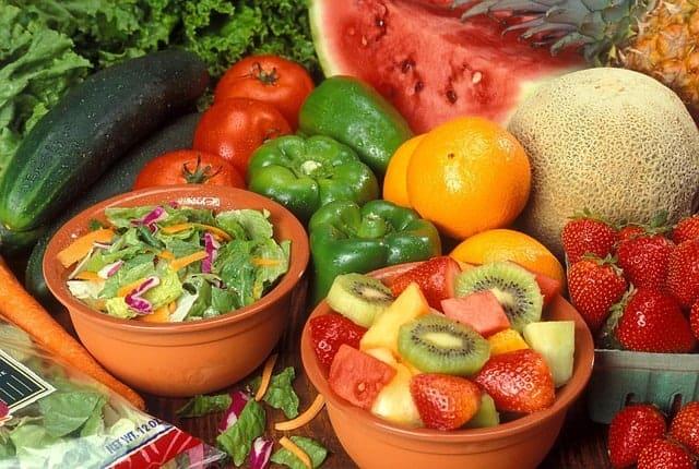 静脈瘤のダイエット - 果物と野菜