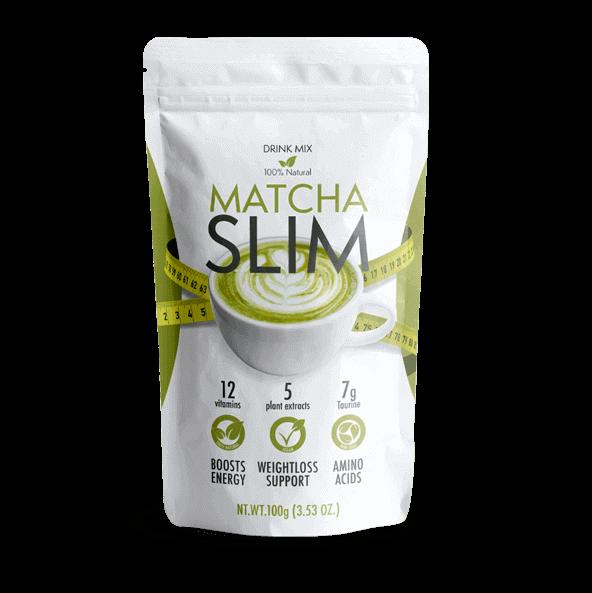 減量のためのMatcha Slim粉末サプリメント