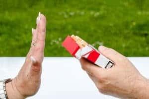 煙草、嫌だ!」と言っていました。