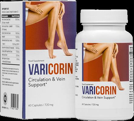 Varicorin最高の静脈瘤の丸薬