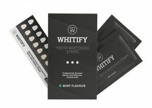 歯のホワイトニング・ストリップ Whitify Strips